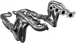 Kooks 1 3/4 Longtube Headers with Catted Connection Kit - 2015-2021 Mustang GT