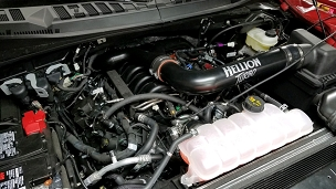 Hellion Sleeper Twin Turbo System - 2015-2020 Ford F-150 5.0L 4V