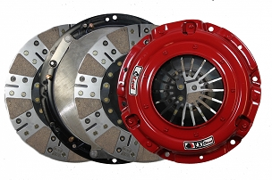 Mcleod Racing Sprung Hub RXT Street Twin Disc Clutch Kit - Clutch Only - 2010-2014 Shelby GT500