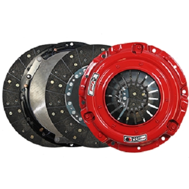 Mcleod Racing Sprung Hub RST Street Twin Disc Clutch Kit - Clutch Only - 2010-2014 Shelby GT500
